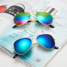 Kính nam thời trang P125, kính mát nam gọng kim loại đi biển, đi du lịch