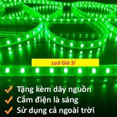Đèn LED dây 5050 10m ống nhựa 220v tặng kèm 1 dây nguồn tốt. Điếp áp: 220V Chiều dài cuộn: 10m Chất liệu cao cấp Màu sắc sáng