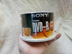 Hộp đĩa DVD trắng Sony 1 hộp nguyên seal 50 đĩa, cam kết sản phẩm đúng mô tả, chất lượng đảm bảo