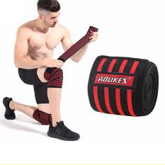 Quấn gối tập GYM Aolikes / Quấn đầu gối / Bảo vệ đầu gối / Băng gối tập Gym