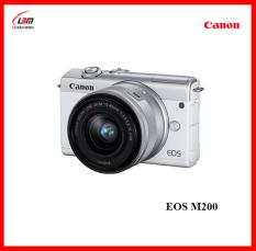 MÁY ẢNH CANON EOS M200 KIT (EF-M15-45mm) (chính hãng Lê Bảo Minh)