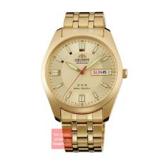 Đồng hồ nam dây thép không gỉ đường kính mặt 39mm Orient 3 sao RA-AB0016G19B (Vàng) – Bảo hành 12 tháng