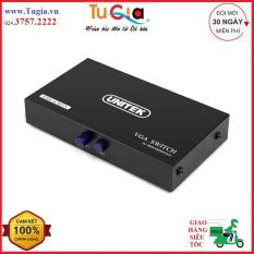 Bộ Chia Gộp VGA 2 PC vào 1 Màn Hình UNITEK (U-8704) – Hàng chính hãng