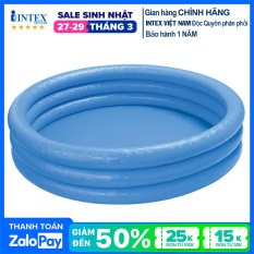 Bể bơi phao INTEX xanh thủy tinh 1m14 59416 – Hồ bơi cho bé mini, Bể bơi phao trẻ em