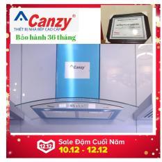 Máy hút mùi kính cong Canzy CZ 3470 tặng ống giảm ồn