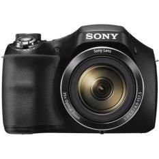 Máy ảnh KTS Sony Cyber-Shot DSC-H300 20.1MP và Zoom quang 35x (Đen)