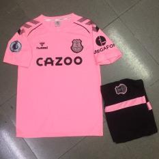 Bộ quần áo bóng đá Everton hồng sân khách 2021