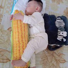 Gối ôm hình trái bắp , gối kê bé ngủ, gối chặn cho bé yêu ngon giấc