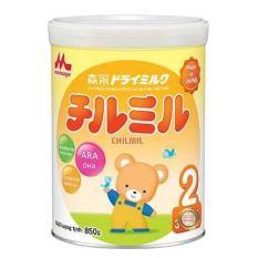 (DATE 2022)Sữa Morinaga Số 2 850G Hàng Nhật Nhập Khẩu Chình Hảng DATE 11/2021(Không Quà)