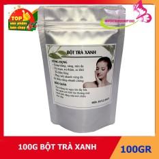 100g bột trà xanh nguyên chất