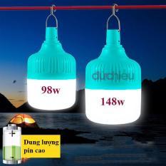 Bóng đèn tích điện 148w, bóng đèn LED sạc tích điện 148w, đèn sạc