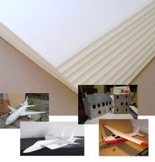 [2.5mm 50x50cm] Combo 8 tấm xốp Depron làm mô hình máy bay tàu xe điều khiển từ xa RC, nhà cửa mô hình kiến trúc, trang trí nội thất, cách âm, cách nhiệt (VA002x2 TP) – Luân Air Models