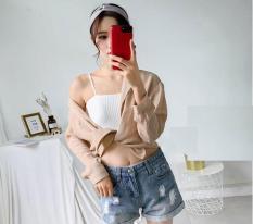 Áo bra quây cotton có đệm ngực -AL25