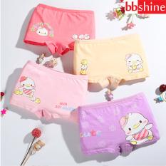Quần chip bé gái, Quần chip đùi cotton cao cấp cho bé 2-12 tuổi hình hươu cao cổ đủ màu sắc tươi vui BBShine – C017