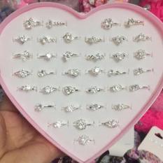 Nhẫn bạc nữ đính đá sang chảnh đẹp lung linh không đen không han gỉ ( Có video + ảnh thật )