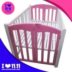 Giường cũi trẻ em 2 tầng cỡ đại (70 x 110 cm) , giường cho bé, cũi trẻ em, cui tre em, giuong ngu cho be, giuong cui gia re – Babimart HN