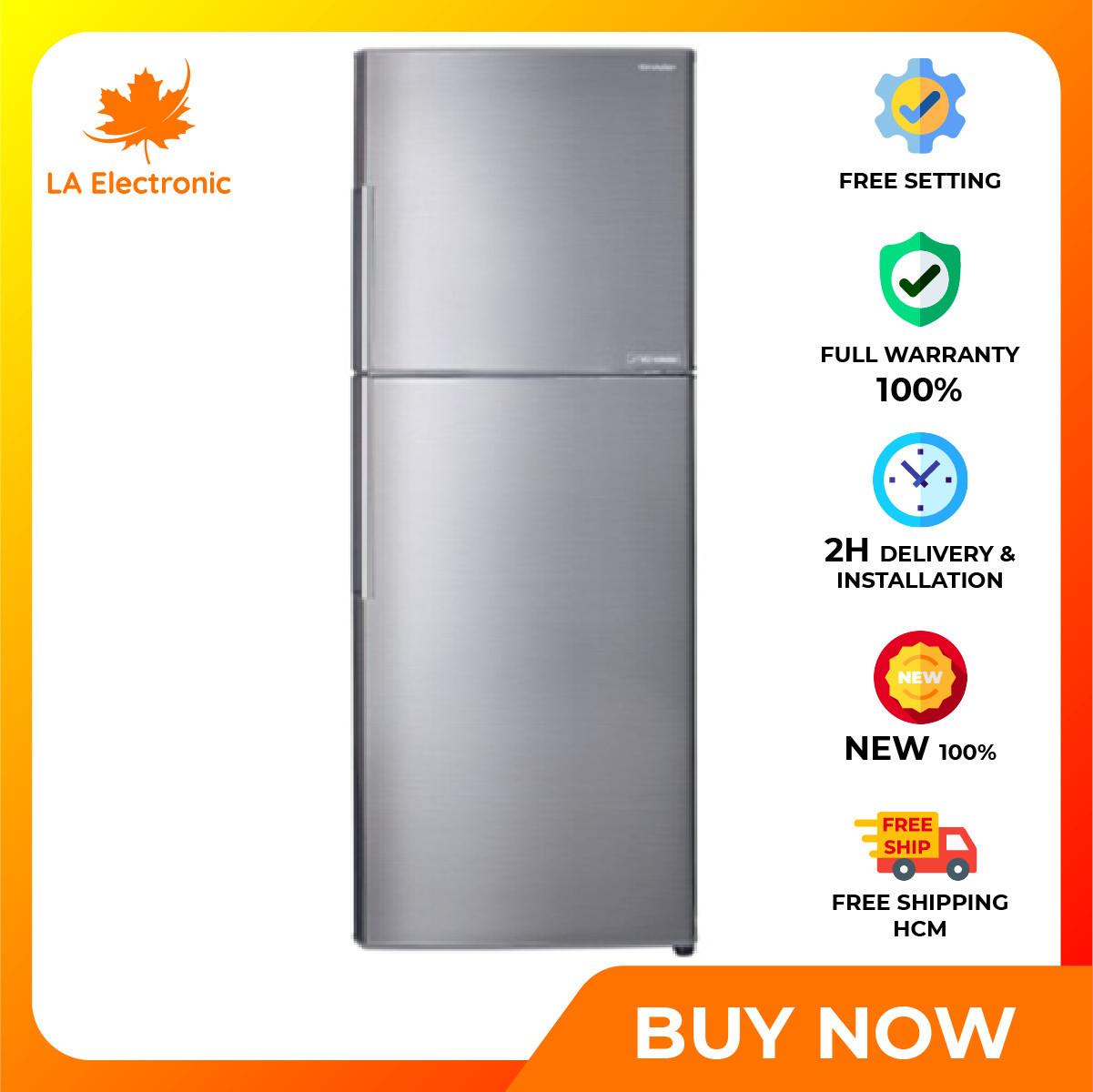 [GIAO HÀNG 2 – 15 NGÀY TRỄ NHẤT 15.09] Trả Góp 0% – Tủ lạnh Sharp Inverter 342 lít SJ-X346E-SL – Miễn phí vận chuyển HCM – Chế độ Extra Eco tăng khả năng tiết kiệm điện tối đa Công nghệ khử mùi Nano Ag+Cu lọc sạch vi khuẩn gây hại