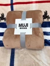 Chăn Lông Tuyết Muji Xuất Nhật Cao Cấp, Mềm Mịn, dễ giặt, giặt bằng tay hay bằng máy đều được, mau khô, không xù lông hay vón cục sau khi giặt, độ bền cao.
