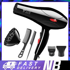 【New Be】Máy sấy tóc Deliya Máy sấy tóc 2 chiều, chế độ điện 2000W Máy sấy tóc đơn giản chuyên nghiệp Máy sấy tóc công suất cao Máy sấy tóc du lịch tại nhà Máy sấy tóc không khí nóng và lạnh, (miễn phí 5 phụ kiện)