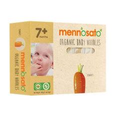 Mì sợi ăn dặm rau củ vị cà rốt hữu cơ cho bé MenNoSato 200g