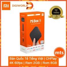 Đầu Android TV MIBOX S 4K QUỐC TẾ | BH 12 tháng Chính Hãng Digiworld – Minh Tín Shop