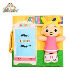 Sách Vải Jollybaby Kèm Búp Bê What Should I Wear