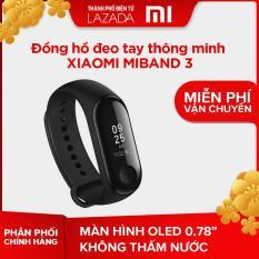 Đồng hồ đeo tay thông minh Xiaomi Miband 3 – Hãng phân phối chính thức