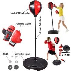 Bộ Đồ Chơi Đấm Bốc Cho Bé, Bóng tập phản xạ, tập cơ tay tại nhà, dụng cụ tập đấm bốc, bộ đồ chơi tập boxing cho bé/đồ chơi thể thao trẻ em đấm bốc giúp rèn luyện sức khỏe