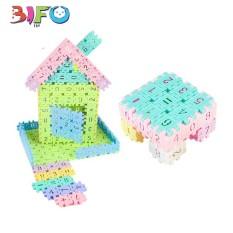 Bộ 50 khối nhựa xây dựng Building block siêu thú vị cho bé
