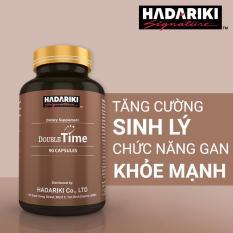 Thực Phẩm Chức Năng Bổ Thận Tráng Dương Hadariki Double Time (Chai 90 viên)