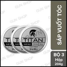 [3 hộp] Bộ 3 Sáp vuốt tóc Titan tạo kiểu cho nam NEW – Toroshop