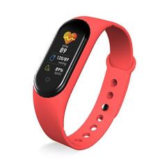 Đồng hồ thông minh thể thao chống nước, kết nối Bluetooth + 4 Màu: ĐEN – ĐỎ – XANH NGỌC – XANH BIỂN