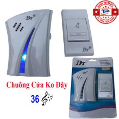 Chuông cửa không dây chống nước, xuyên vật cản 40-60m – ĐT DUFA TPC02