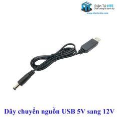 Cáp biến sạc dự phòng thành nguồn cho Wifi 5V USB 9v và 12V (Mất điện vẫn có Mạng & WiFi)