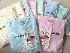 Bộ DÀI TAY cho bé (0-9 tháng ~ 3-8Kg)- hàng đẹp (Made in Vietnam)