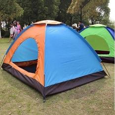 Lều cắm trại dã ngoại, lều phượt du lịch 2 -3 người cao cấp cửa 2 lớp chống thấm nước, chống muỗi, dễ dàng gấp gọn tiện lợi, kích thước 2m x 1.5m x 1.1m (nhiều màu), leu cam trai bst1157