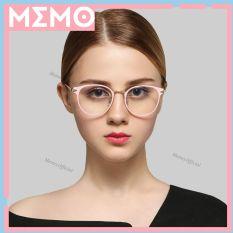 Gọng kính mắt mèo cao cấp nam nữ chất liệu kim loại thanh mảnh màu sắc thời trang_KL3204