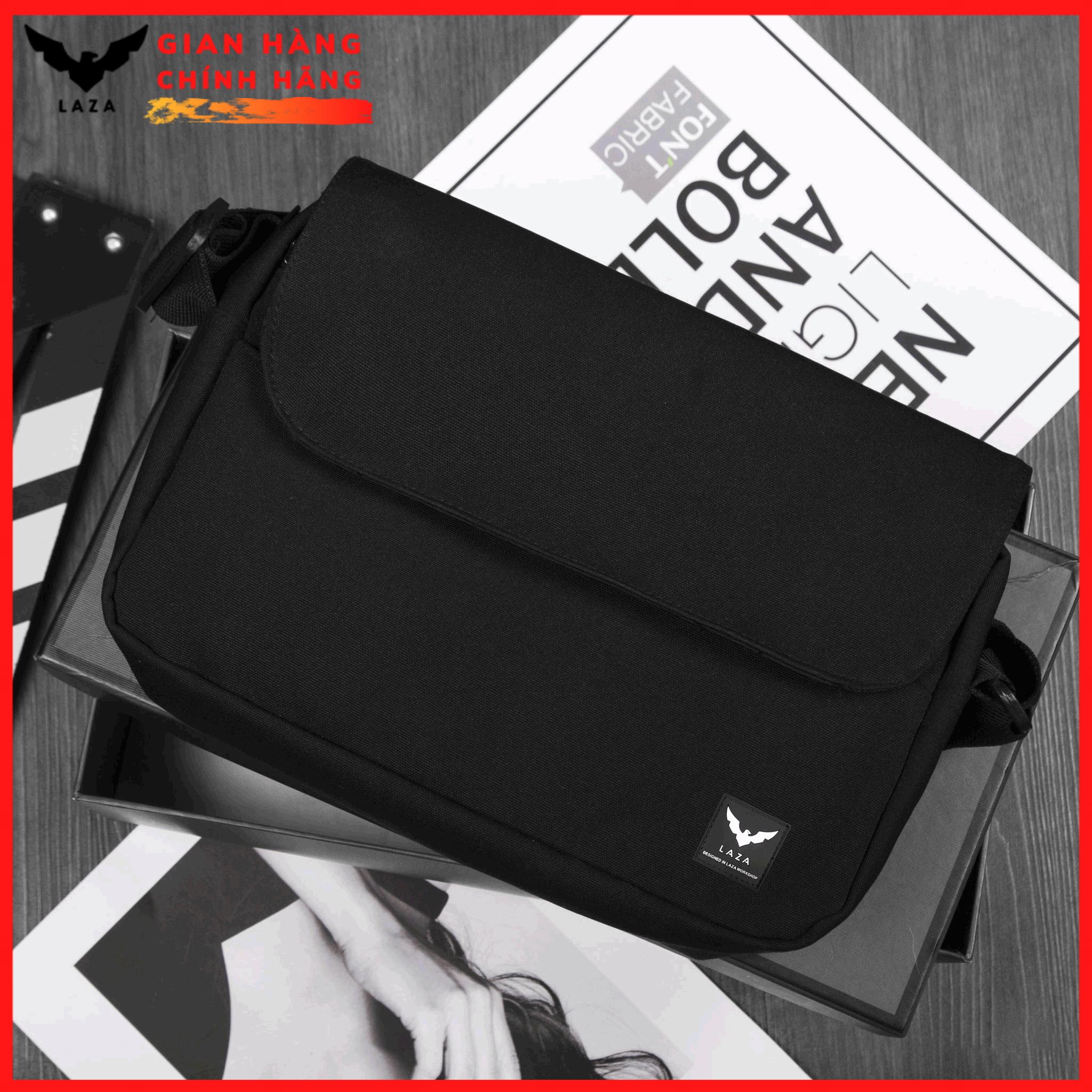Túi đeo chéo nam tiện lợi , Túi Đeo Chéo Mini Thời Trang Vải Canvas Cao Cấp LAZA TX473 – Chính hãng phân phối