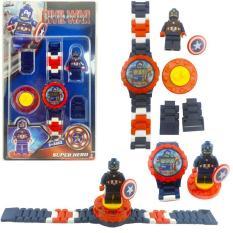 Đồng hồ siêu nhân – Đồng hồ biến hình siêu nhân cho bé – Vừa có thể xem thời gian, vừa có thể làm món đồ chơi vui nhộn cho bé vui chơi