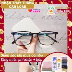 [Lấy mã giảm thêm 30%]Kính Cận Nam Nữ 6138-Gọng Kính Mắt Vuông- Gọng Kính Cận Đẹp-Gọng Kính Cận Unisex-Gọng Kính Thời Trang-Lily Eyewear