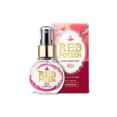 Xịt Thơm Toàn Thân Và Tóc Body Holic – Red Potion