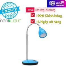 Đèn bàn LED 4W học tập, làm việc Nanolight TLL-001 – Dễ dàng uốn dẻo – Hàng chính hãng bảo hành 3 tháng