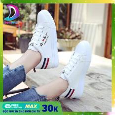 [Freeship 20K cho đơn hàng chỉ từ 30K] Giày nữ sneakerHàn Quốc – Dozimax – SD02 – giầy sneaker nữ trắng – giày sneaker nữ hot 2020