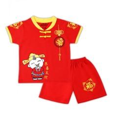 (ĐỒ TẾT CHO BÉ)Bộ quần áo cổ tàu chúc xuân cho bé trai.đồ bộ cho trẻ em từ 8kg đến 26kg-HÀNG TẬN XƯỞNG GIÁ TẬN GỐC