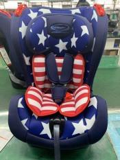 Gluck – Ghế ngồi ô tô ZY02 màu xanh có sao (Lá cờ Mỹ)