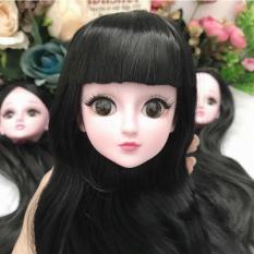 Búp bê Yeluoli 60cm 18 khớp nhiều kiểu tóc