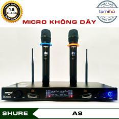Micro karaoke không dây Shure A9 – Chống hú rít cực tốt