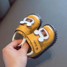 Giày tập đi cho bé đế mềm êm chân có kèn hình gấu dễ thương cho bé 0-2 tuổi – NG7