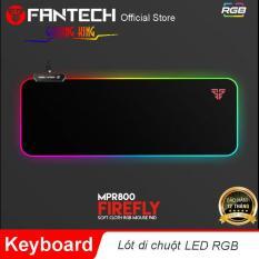 Đế lót di chuột đèn LED RGB 7 chế độ khác nhau Fantech MPR800s – Hãng Phân Phối Chính Thức
