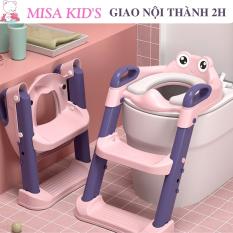 Ghế Trẻ Em Nhà Vệ Sinh, bô vệ sinh, Bô Ghế Tập Cho Trẻ Tập Đi Có Thể Gập Lại Chống Trượt